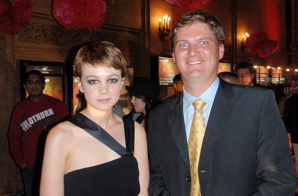 With Carey Mulligan At BIFF
